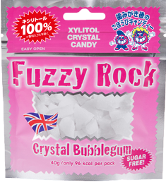 商品画像:Fuzzy Rock Crystal Bubblegum
