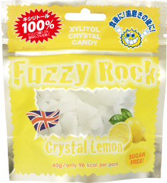 商品画像:Fuzzy Rock Crystal Lemon