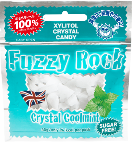 商品画像:Fuzzy Rock Crystal Coolmint